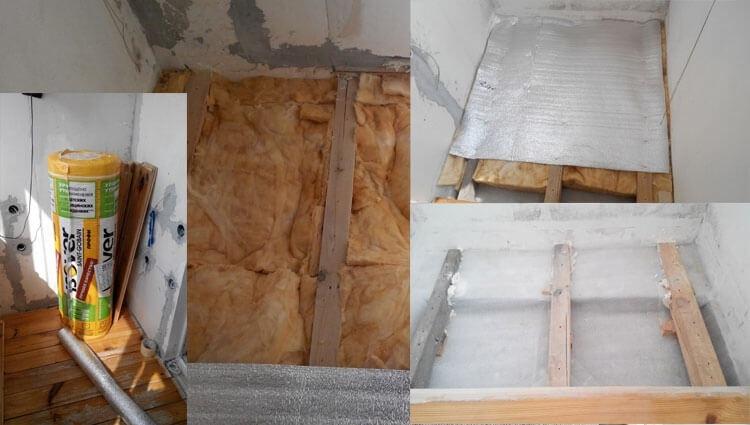 Утепляем пол на балконе или лоджии, кабинет на балконе